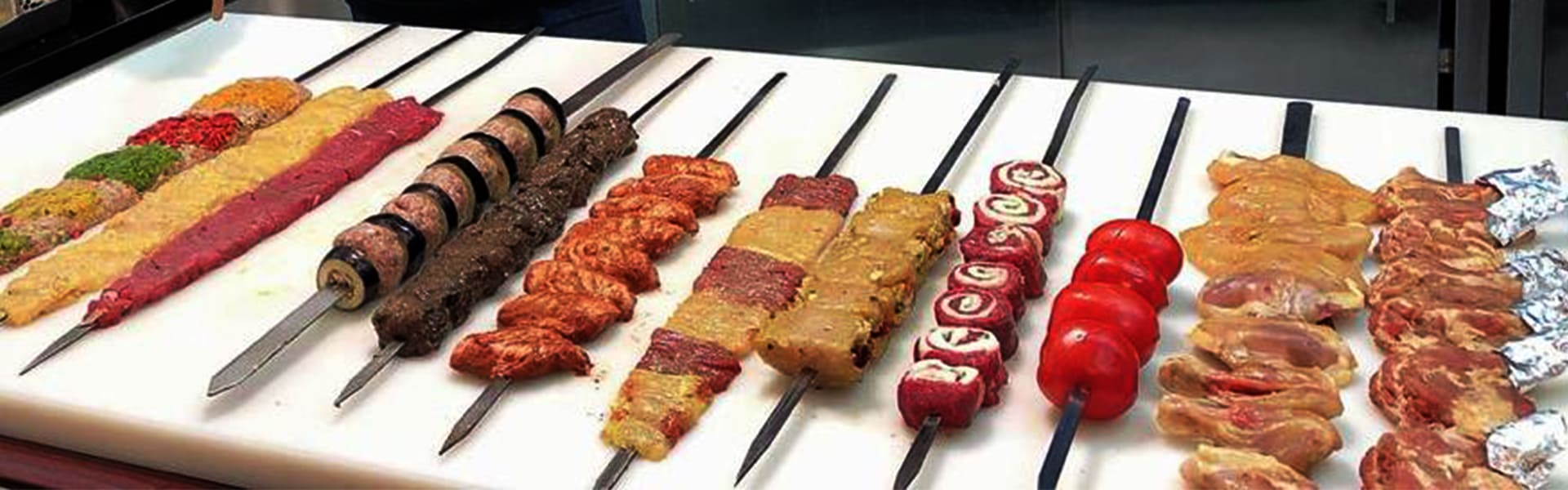 Iranian & International grills (kebabs) course